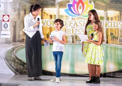 Показы детской моды. Всероссийский финальный тур   WORLD FASHION KIDS 2019