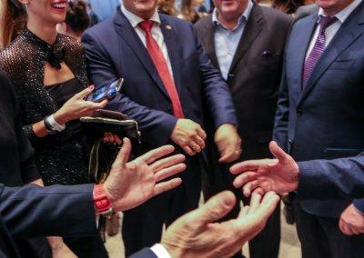 L'apertura della Fiera internazionale di Mosca del 2017